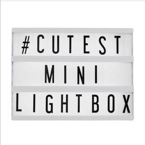 Mini light box 💡